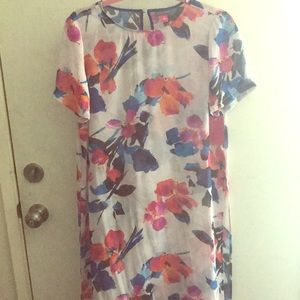 Sheer floral dress or coverup by Vince Camuto
